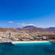 Aerial panoramic view of Mindelo waterfront in Sao Vicente Island in Cape Verde - PhotoDune Item for Sale