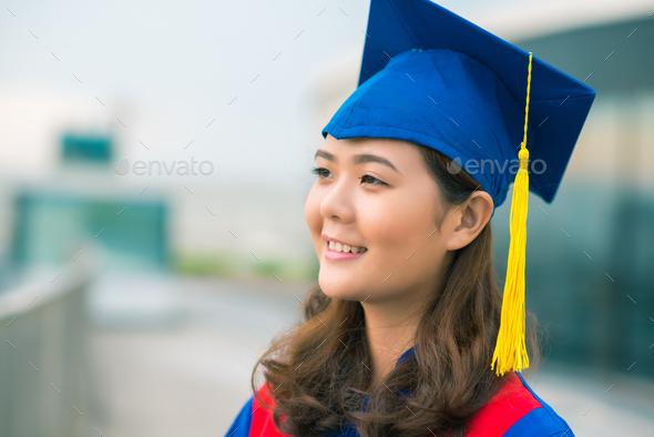 Proud graduate - Stock Photo - Images