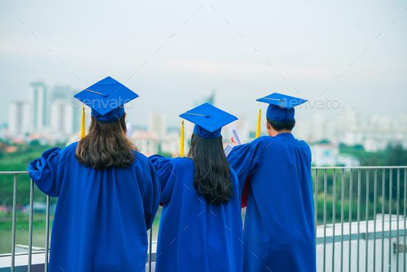 Graduates - Stock Photo - Images