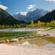 Lake Jasna in Slovenia in autumn - PhotoDune Item for Sale