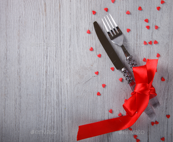 Gift for a romantic holiday Valentine's day - Stock Photo - Images
