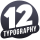 Typography Promo / Stomp - VideoHive Item for Sale