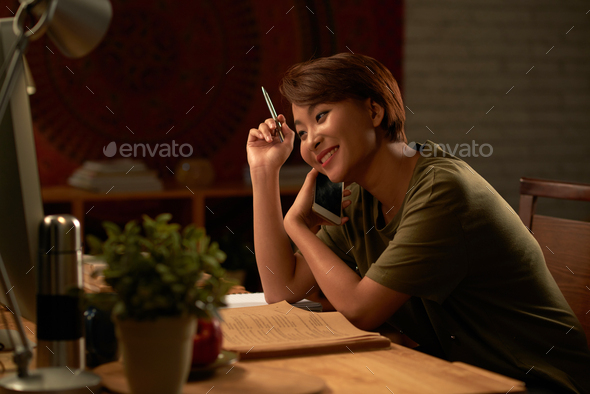Studying all night long - Stock Photo - Images