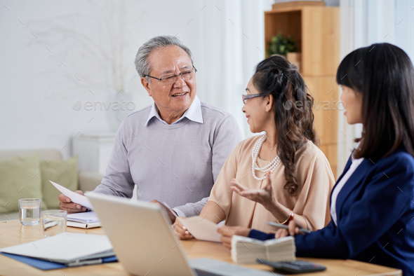 Choosing New Apartment - Stock Photo - Images