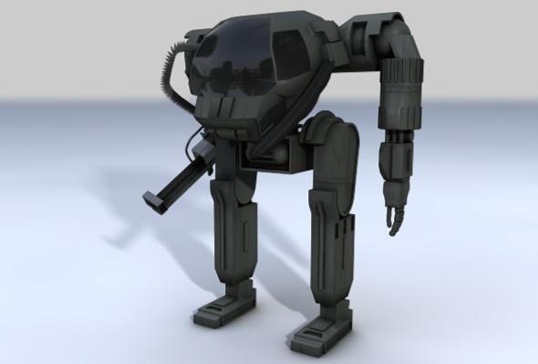 Attack Suit - 3DOcean Item for Sale