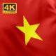 Flag of Vietnam - 4K - VideoHive Item for Sale