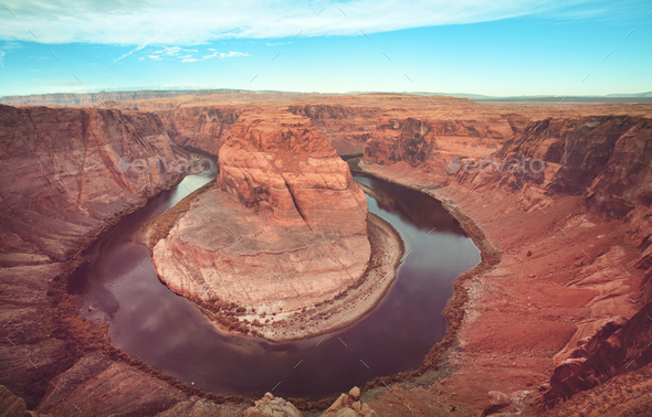 Horse Shoe Bend - Stock Photo - Images