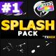 Cartoon Splash Elements   FCPX - VideoHive Item for Sale