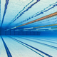 Olympic Swimming pool under water background. - PhotoDune Item for Sale