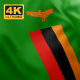 Flag of Zambia - 4K - VideoHive Item for Sale
