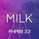 Milk - Multipurpose Responsive phpBB 3.3 Theme
