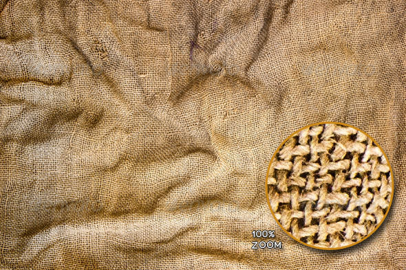 Old Sack Background - Fabric Textures
