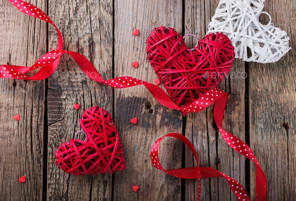 Valentine's day celebration - Stock Photo - Images