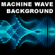 Machine Wave Background (Loop) - VideoHive Item for Sale