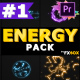 Hand-Drawn Energy Charges   Premiere Pro MOGRT - VideoHive Item for Sale