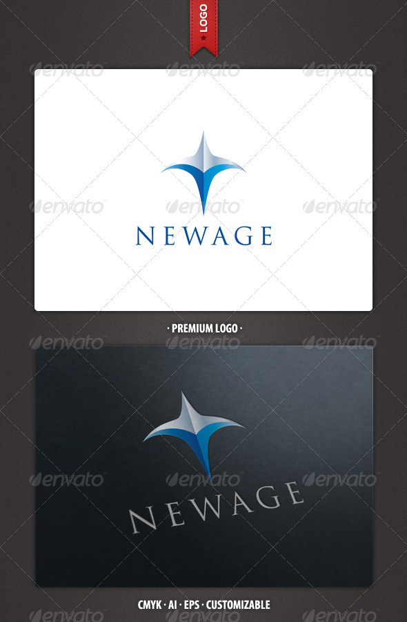 New Age - Abstract Logo Template - Abstract Logo Templates