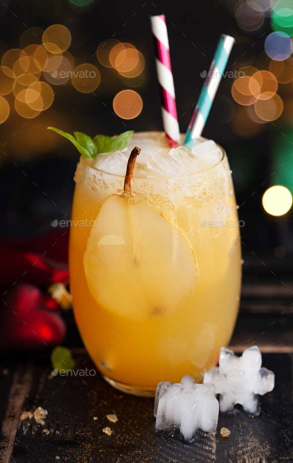 Festive Cocktail - Stock Photo - Images