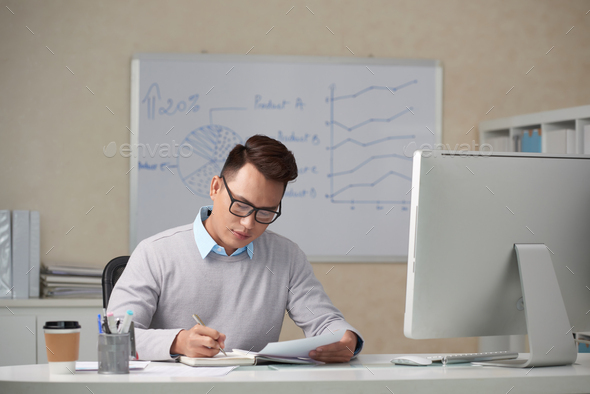 Planning the day - Stock Photo - Images