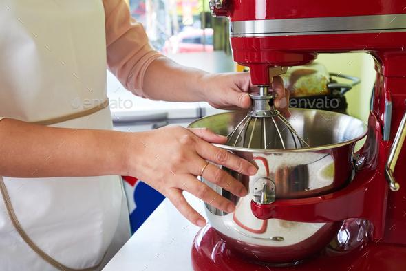 Preparing dough - Stock Photo - Images