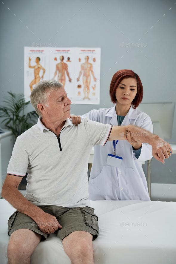 Rehabilitation theraphy - Stock Photo - Images
