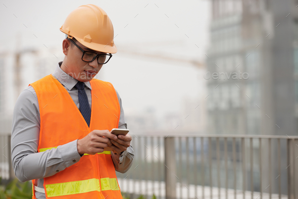 Checking phone - Stock Photo - Images