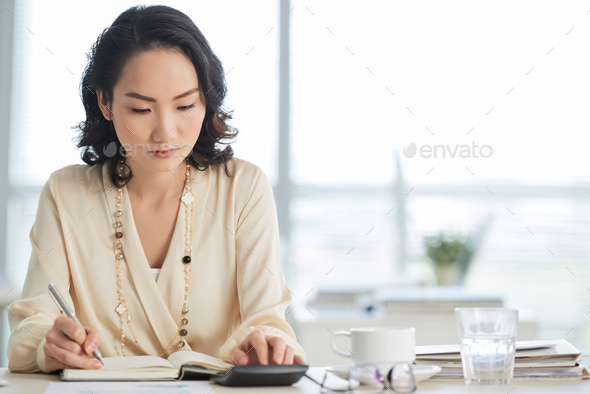Working lady - Stock Photo - Images