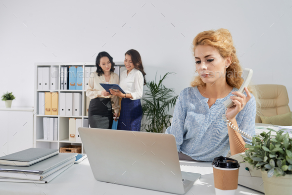 Working business lady - Stock Photo - Images