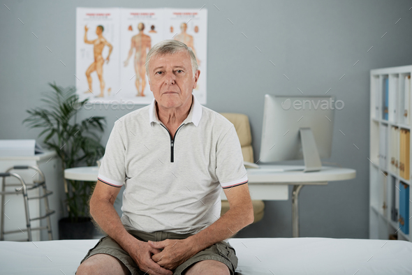 Man in hospital - Stock Photo - Images