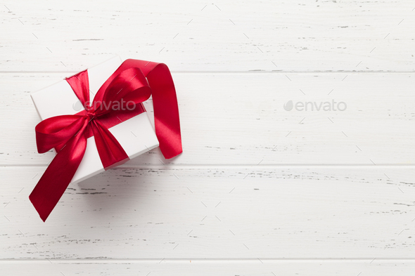 Valentines day gift box - Stock Photo - Images