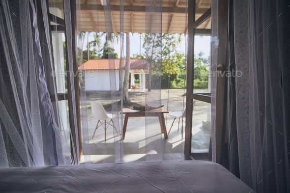 Luxury accommodation in tropical destination - Stock Photo - Images