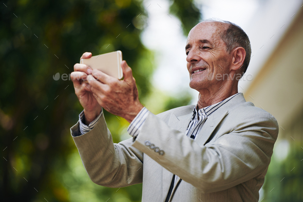 Posing for selfie - Stock Photo - Images
