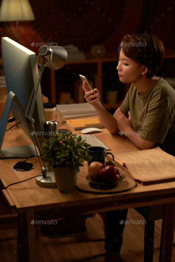 Working all night long - Stock Photo - Images