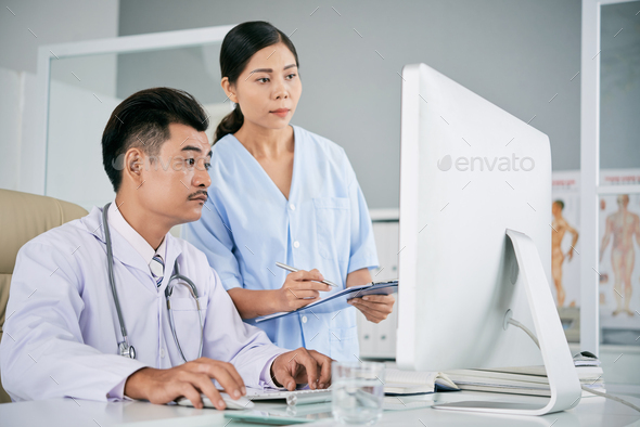 Medical workers - Stock Photo - Images