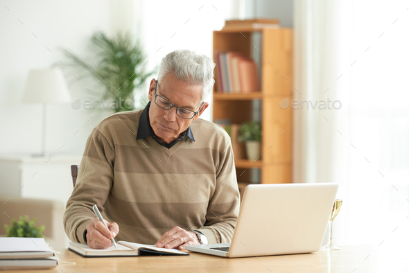 Working aged man - Stock Photo - Images
