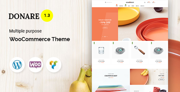 Donare - Gift Store WooCommerce Theme