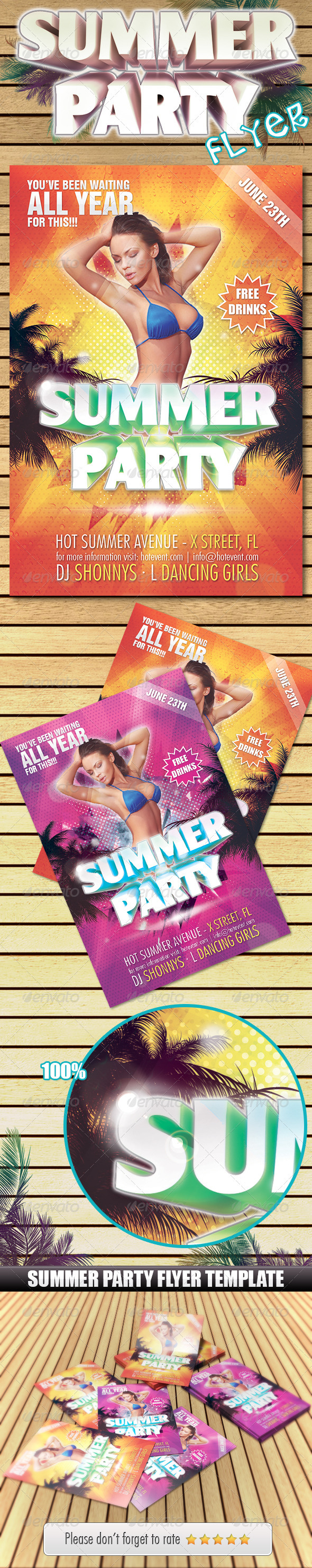 Summer Party Flyer!!! - Clubs & Parties Events
