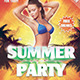 Summer Party Flyer!!! - GraphicRiver Item for Sale