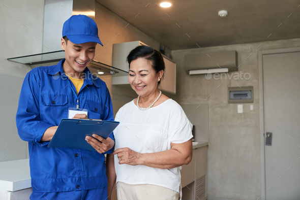 Filling documents - Stock Photo - Images