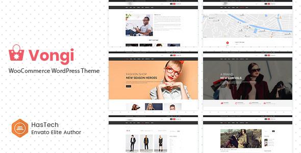 Vongi - WooCommerce WordPress Theme