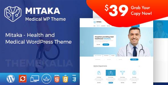 Mitaka - Medical WordPress Theme
