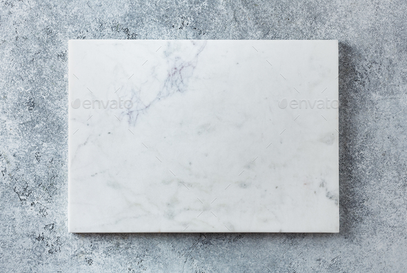 Gray serving tray made on a textured background - Stock Photo - Images
