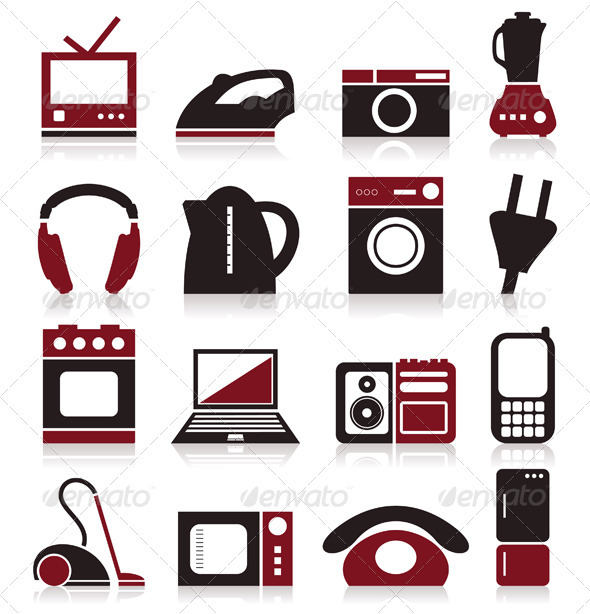 Home appliances - Miscellaneous Vectors