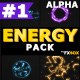 Hand Drawn Energy Charges | Motion Graphics Pack - VideoHive Item for Sale