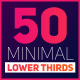 50 Minimal Titles - VideoHive Item for Sale