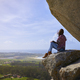 Young woman on the Pedra da Ra viewpoint - PhotoDune Item for Sale