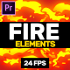Fire Elements // MOGRT