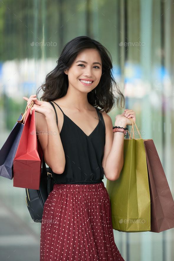 Enjoying shopping - Stock Photo - Images