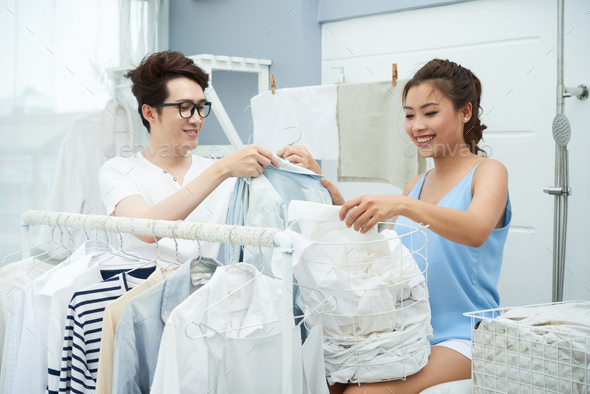 Laundry day - Stock Photo - Images