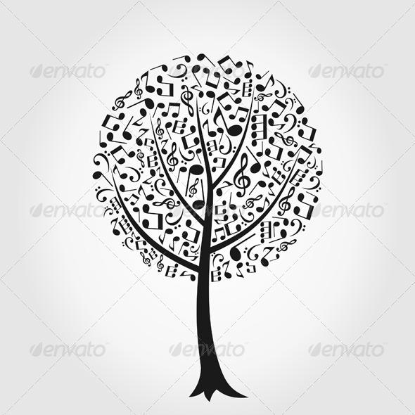 Musical tree6 - Flowers & Plants Nature