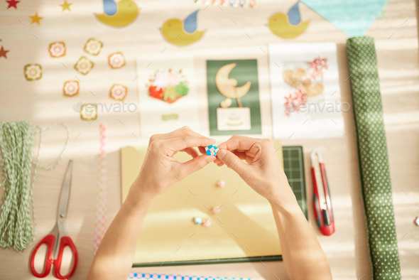 Quilling process - Stock Photo - Images